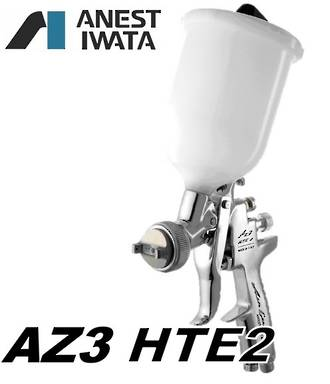 FIW112 Iwata AZ3 HTE2 Gravity Spray Gun 600ml Pot 3.0mm