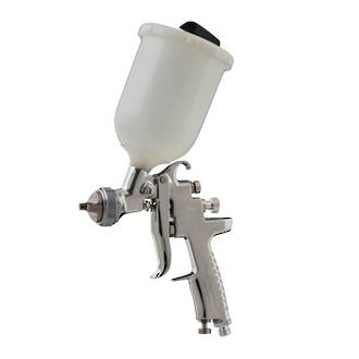 FIW111 Iwata AZ3 HTE2 Gravity Spray Gun 600ml Pot 2.5mm