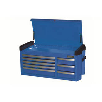 KK7758 Kincrome 'Contour' Tool Chest Extra Wide 8 Drawer Electric Blue
