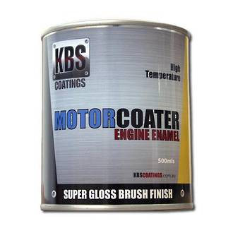 KBS 69307 MotorCoater Engine Enamel White 500ml