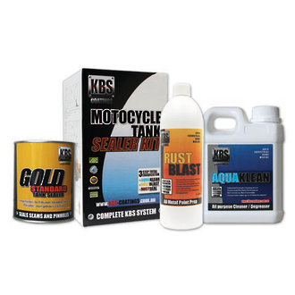 KBS 5130 Motorcycle Fuel Tank Sealer Kit - Small Tanks upto 45L