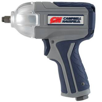 "XT001000 Campbell Hausfeld GSD 3/8"" Impact Wrench, Twin Hammer, Variable Speed"