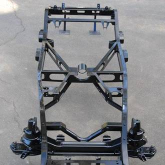 KBS 8401 Black Top Chassis Coater Gloss Black 1 Litre
