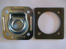 330002 Macs USA Recessed D or Lashing Ring  2800Kg + 472005 Steel Backing Plate 6mm Ea