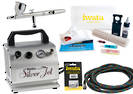 FIWINT Iwata Intermediate Air Brush Kit Large Gravity 5 Piece