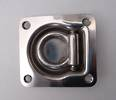 330800 Stainless Steel  Recessed D or Tie Down Lashing ring with 800Kg safe working load capacity