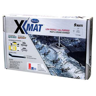15841 Eastwood X-mat Low Profile Sound Deadening 3.2sq metres (34.8 sq ft)