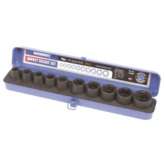"K13359M Kincrome Air Impact Socket Set  10 Piece 1/2"" Drive"