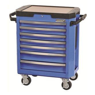 KK7747 Kincrome Contour Tool Trolley 7 Drawer Electric Blue