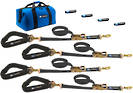 511646 Macs USA Ratchet Tie Down Pro Pack Black -Sewn End Ratchet option